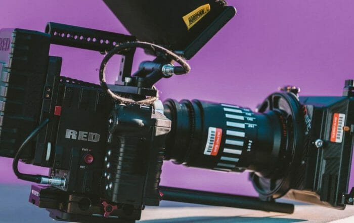 camara de video red dragon